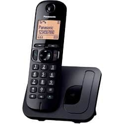 Panasonic KX-TGC210EB digital cordless phone with nuisance call blocker – single