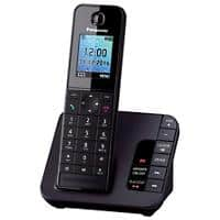 Panasonic KX-TGH220EB Single Cordless Telephone Black