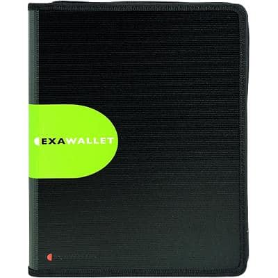 Exacompta Conference Folder Exactive A4 Black Polypropylene 21 x 3 x 29.7 cm
