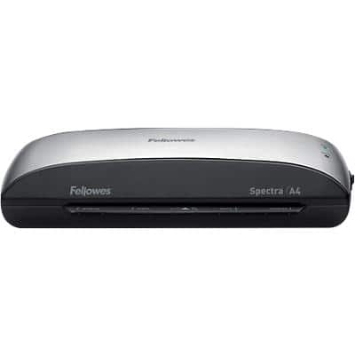 Fellowes Spectra A4 Laminator, 300 mm/min. Warm Up Time 4 min up to 2 x 125 (250) Micron