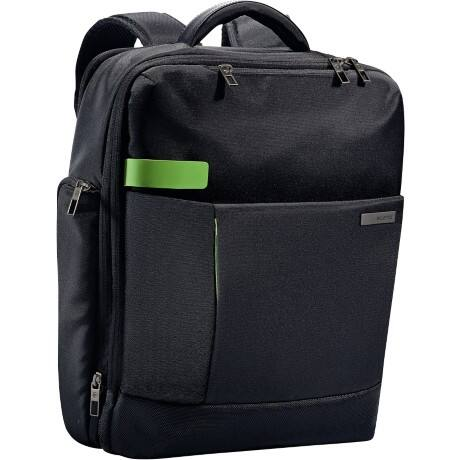 "Leitz  Smart Traveller 15.6"" Laptop Backpack, Black"
