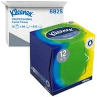 Kleenex Facial Tissues Cube 3 Ply 56 Sheets