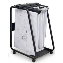 Hang-A-Plan General Filing Trolley 550 W x 710 D x 990 H mm