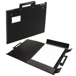 Arnos Hang-A-Plan portfolio with A3 display book – black