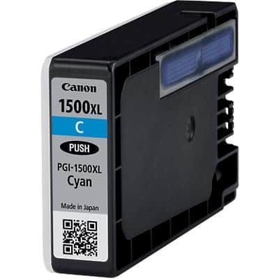 Canon PGI-1500XLC Original Ink Cartridge Cyan