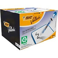 BIC Bullet Tip Whiteboard Marker Black Pack of 48