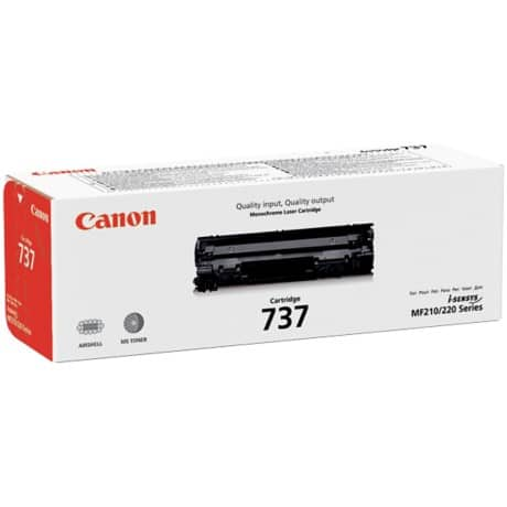 Canon 737 Original Toner Cartridge Black