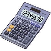 Casio Desktop Calculator MS80-VER 8 Digit Display Blue