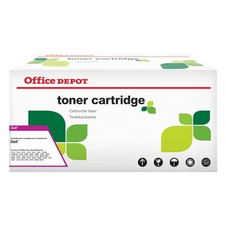 Office Depot Compatible Dell Toner Cartridge 593-10334 Black