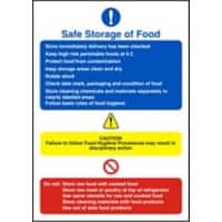 Catering Sign Safe Storage Vinyl 20 x 15 cm
