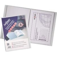 Snopake Superline 20 pocket A3 Presentation Folder 11953 Transparent 3.22 x 1.5 x 44 cm