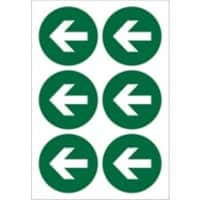 First Aid Sign Arrow Pictogram Plastic