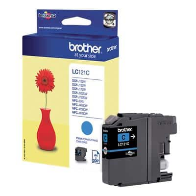 Brother LC121C Original Ink Cartridge Cyan