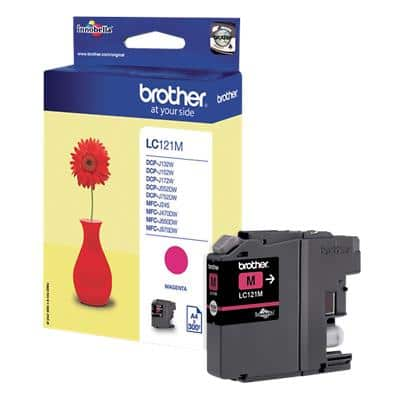 Brother LC121M Original Ink Cartridge Magenta