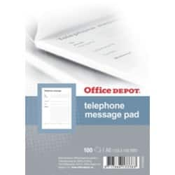 Office Depot Telephone Message pad A6