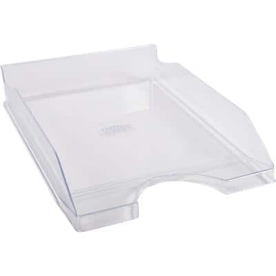 Office Depot Letter Tray C4 Transparent 25.5 x 34.8 x 6.5 cm