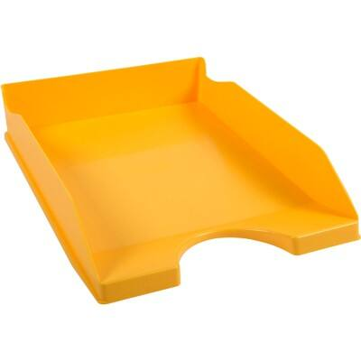 Office Depot letter tray yellow