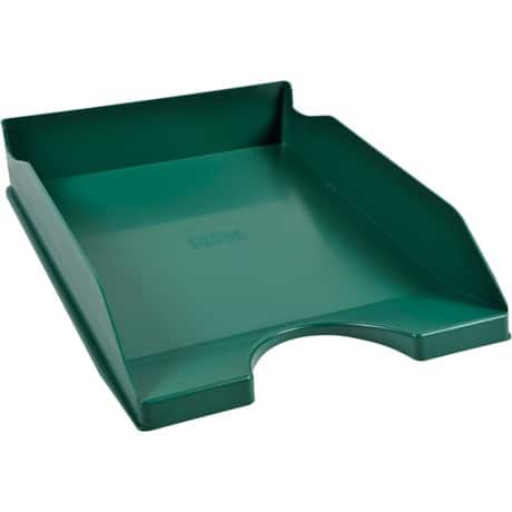 Office Depot letter tray green
