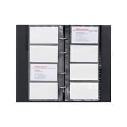 Office Depot Loose Leaf Card Holder 96 cards