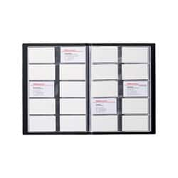 Office Depot Fixed Leaf Card Holder 400 cards