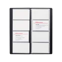 Office Depot Fixed Leaf Card Holder 96 cards