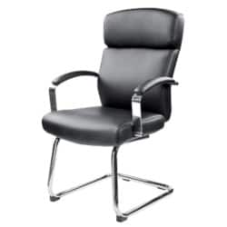 Realspace Visitor Chair Akris permanent contact Black