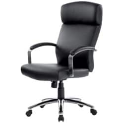 Realspace Executive Chair Akris basic tilt Black