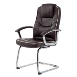 Realspace Visitor Chair Rome2 basic tilt Brown