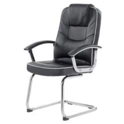 Realspace Visitor Chair Rome2 basic tilt Black