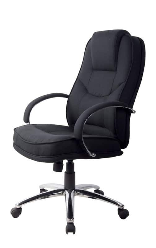 RS Soho Rome2 Executive Office Chair In Black Fabric