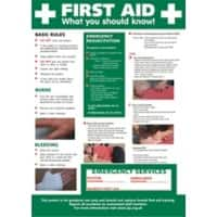 Poster First Aid Plastic 42 x 59.4 cm