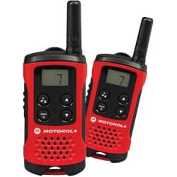 Motorola TLKR T40 two way radio twin pack