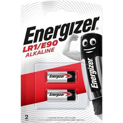 Energizer Batteries LR1/E90 LR1 2 Pieces