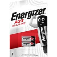 Energizer A23/E23A Batteries Minatures Pack of 2