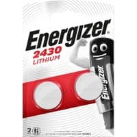 Energizer Watch Battery Miniatures 2430/CR2430 CR2430 2 pieces
