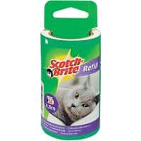 Scotch-Brite Lint Roller Refill 7 x 9 cm White 56 Sheets