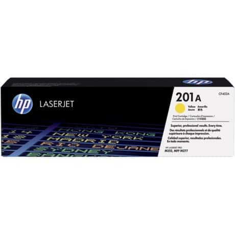 HP 201A Original Toner Cartridge CF402A Yellow
