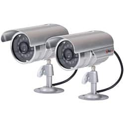 Proper Imitation Camera Kit P-SIK2ACS-1  2x Aluminium security cameras