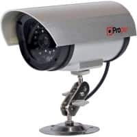 Proper with LED Flashing Light Imitation Dummy Security Camera P-SICS-1