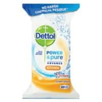 Dettol Wipes oxygen splash
