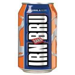 Irn Bru Can 24 Pieces of 330 ml