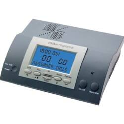 Radius Digital Answering Machine RESPONSE Black, Silver