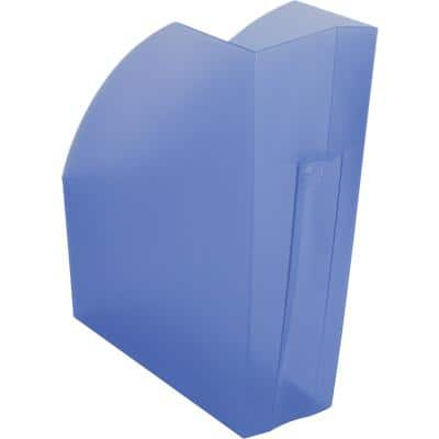 Exacompta Magazine File The Magazine Polypropylene Blue 11 x 29.2 x 32 cm