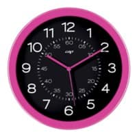 Gloss by CEP Wall Clock 820G 30 x 4.5 cm Pink
