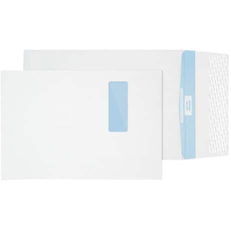 Premium Secure Envelope c4 125gsm White window peel and seal 100 pieces