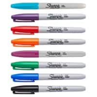 Sharpie Markers Fine Assorted Pack of 8