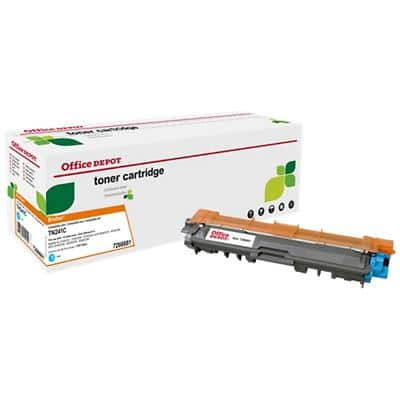 Compatible Office Depot Brother TN-241C Toner Cartridge Cyan