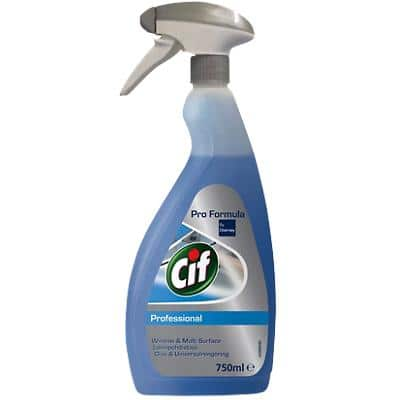 Cif Professional Window and Multisurface Cleaner 750ml