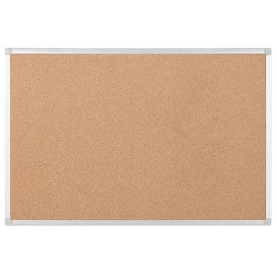 Bi-Office Cork Board Earth 120 x 90 cm Brown