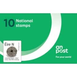 An Post 10 x €1.00 Postage Stamps 10 Pieces